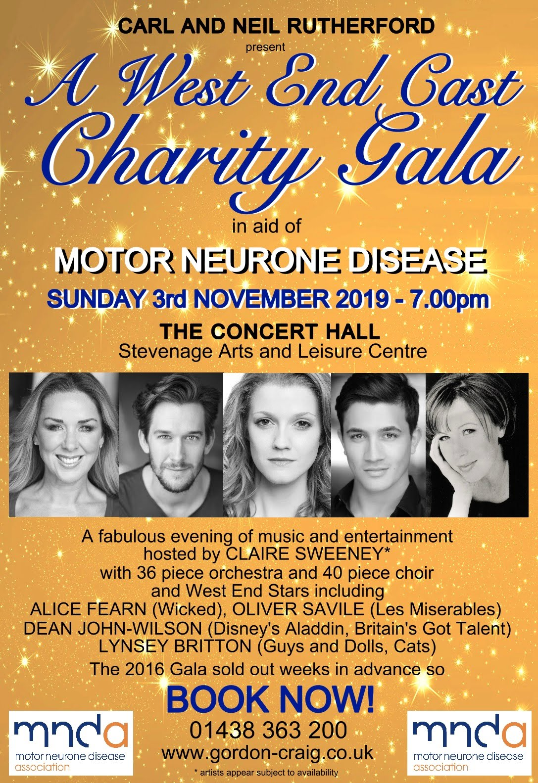 MND Stevenage Gala